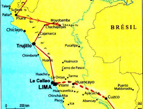 3 mois en Amérique Latine. Après la Colombie,  l'Équateur, LE PÉROU 2ème partie
