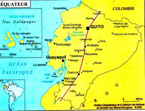 3 mois en Amérique Latine. Après la Colombie,   L'ÉQUATEUR